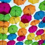 Besondere Regenschirme kaufen, bunte Regenschirme