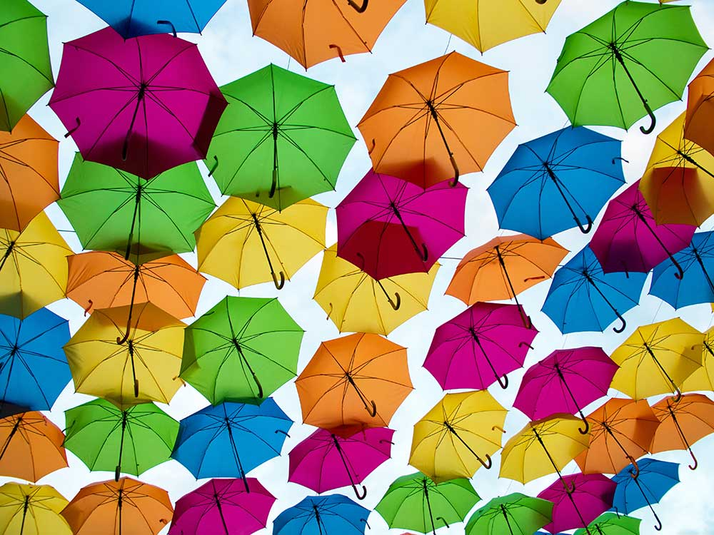 paraguas divertidos y originales