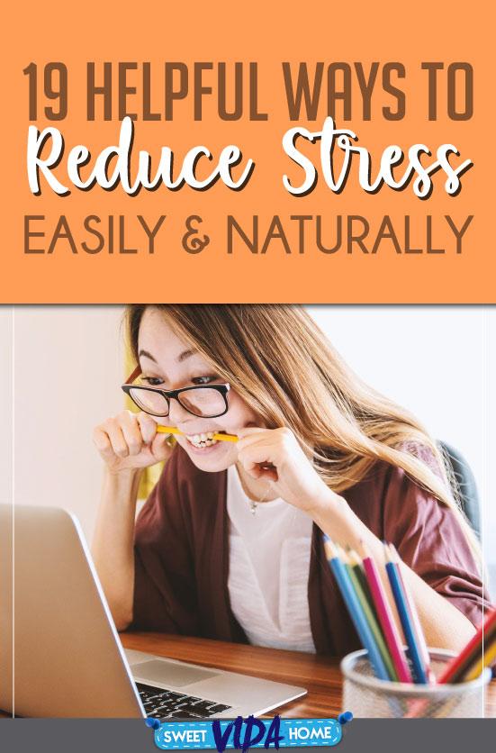 reducing stress pin