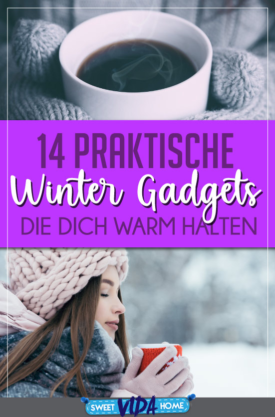 Winter Gadgets Pin