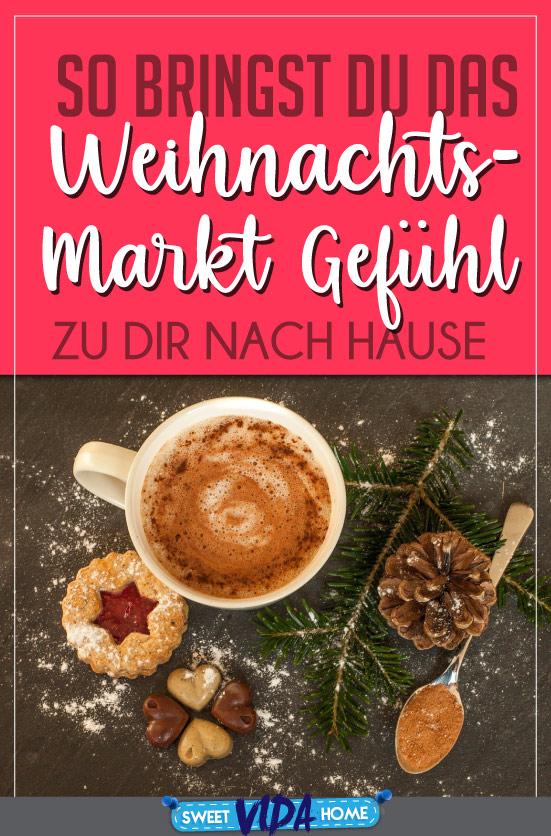 Weihnachtsmarkt Zuhause Pin