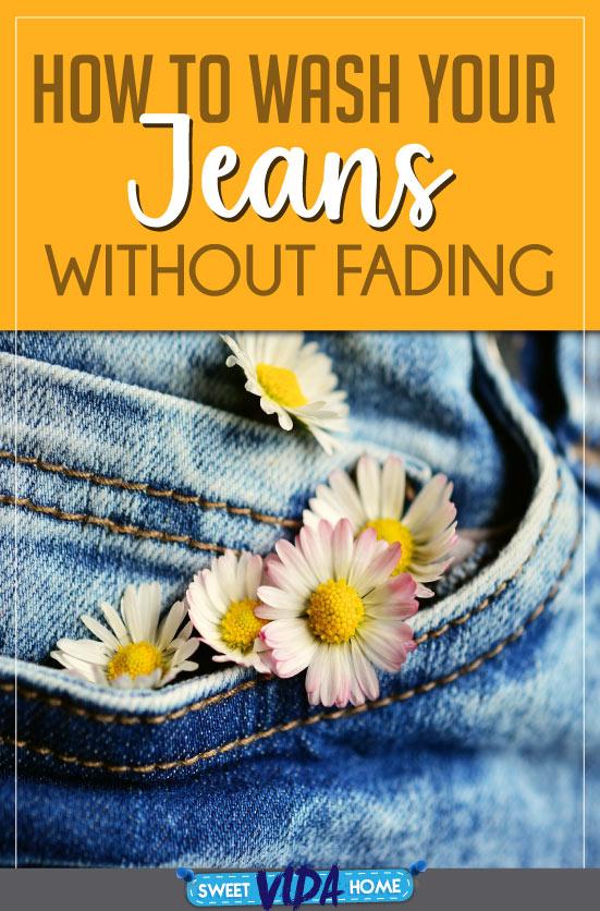 washing jeans tips pin
