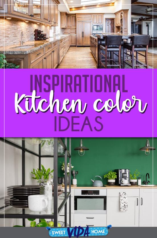 kitchen color ideas pin