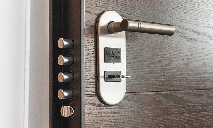 door lock, security at home