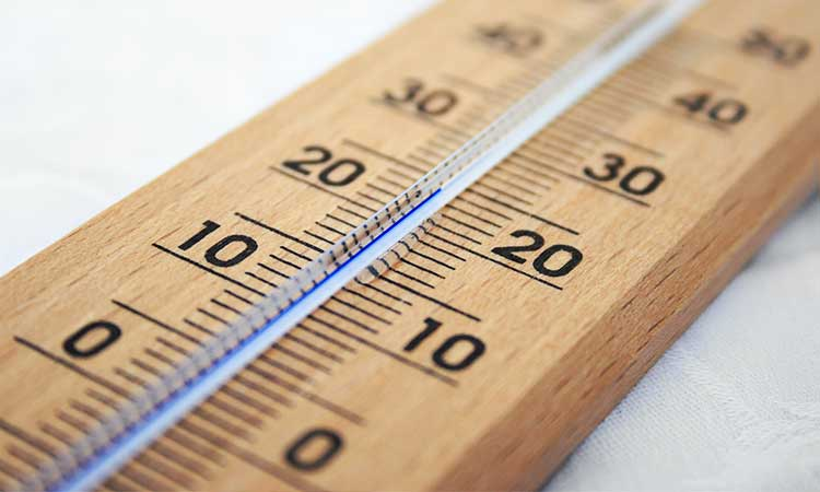 wooden thermon, feel-good temperature at home