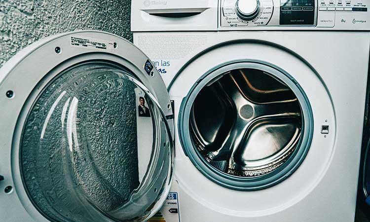 saubere Waschmaschine