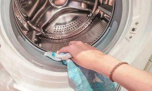 Waschmaschine Gummi Schimmel entfernen