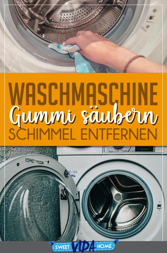 waschmaschine schimmel gummi entfernen Pin